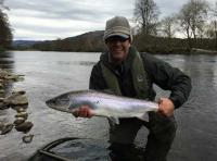 Catching A Scottish Salmon