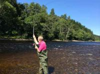 Salmon Fishing Tuition