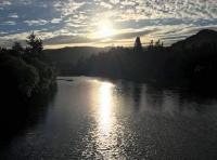 Dusk On The River Tay