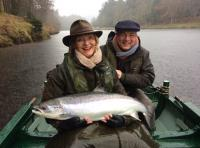 Lady Salmon Fishing Guests