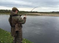 Salmon Spin Fishing