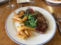 Salmon River Steak & Chips