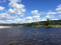 Fishing The River Tay In Spring
