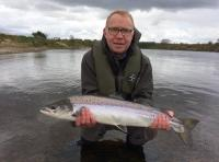 Catching A Perfect Spring Salmon