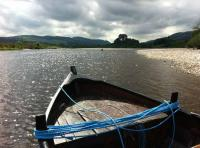 Boat Fishing The River Tay