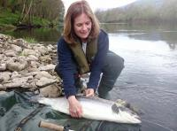 Lady Salmon Fisher Success